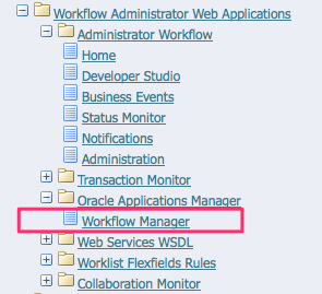 Oracle Applications Manager